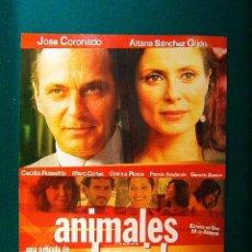 Cine: ANIMALES HERIDOS - VENTURA PONS - JOSE CORONADO - AITANA SANCHEZ GIJON - CECILIA ROSSETTO - GUIA .... Lote 38061399