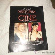 Cinéma: LA GRAN HISTORIA DEL CINE TERENCI MOIX CAPITULO 19. Lote 38065158
