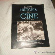 Cinéma: LA GRAN HISTORIA DEL CINE TERENCI MOIX CAPITULO 27. Lote 38065268