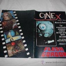 Cinema: CINE X Nº 4: FLESH GORDON. MARIA LA SANTA. UNA ACTRIZ SIN PREJUICIOS SEXUALES. Lote 38153091