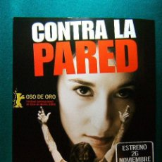 Cine: CONTRA LA PARED - FATIH AKIN - BIROL UNEL - SIBEL KEKILLI - CATRIN STRIEBECK - GUIA .... Lote 220425930