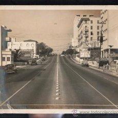 Cine: FOTOGRAFIA ANTIGUA LA HABANA (CUBA). CALLE 23 EN EL VEDADO. 24 X 20CM.. Lote 38119896