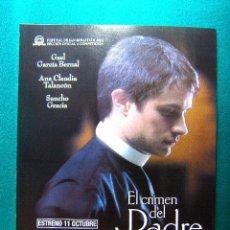Cinema: EL CRIMEN DEL PADRE AMARO - CARLOS CARRERA - GAEL GARCIA BERNAL - SANCHO GRACIA - GUIA .... Lote 38120881