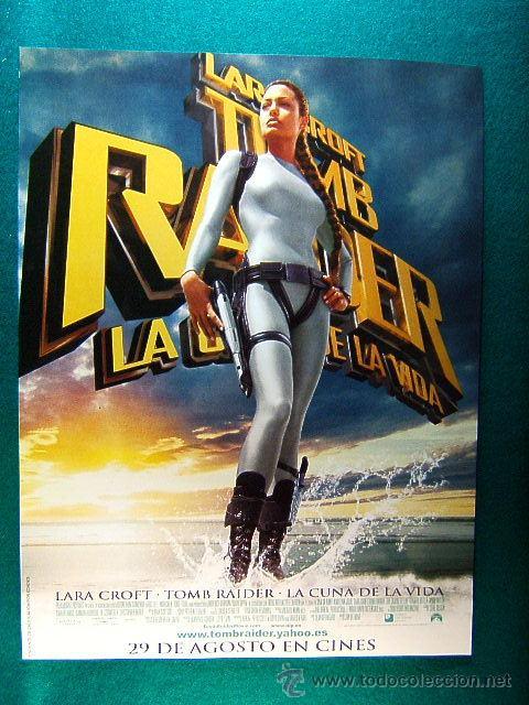 Lara Croft Tomb Raider The Cradle Of Life La Cuna De La Vida Jan De Bont Gerard Butler Guia