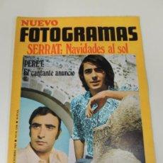 Cine: REVISTA FOTOGRAMAS Nº 1106 DIC 1969 - JOAN MANEL SERRAT - PERET - JOHN LENNON. Lote 38173001