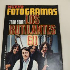 Cine: REVISTA FOTOGRAMAS Nº 1109 ENERO 1970 - THE BEATLES (PORTADA) - JANE FONDA. Lote 38173175