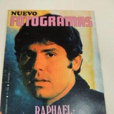 Cine: REVISTA FOTOGRAMAS Nº 1114 FEB1970 - RAPHAEL - AMPARO SOLER LEAL - JESUS HERMIDA. Lote 38173389