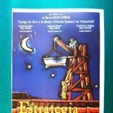 Cine: LA ESTRATEGIA DEL CARACOL - SERGIO CABRERA - FRANK RAMIREZ - FAUSTO CABRERA - CARLOS VIVES - GUIA.... Lote 285374688