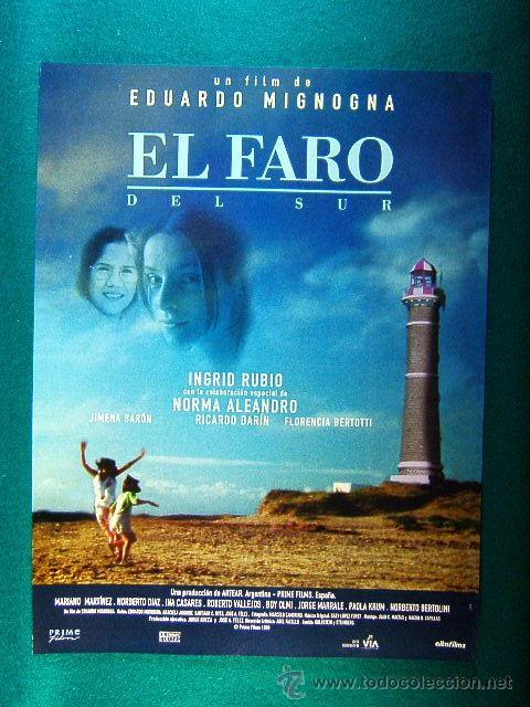 el faro del sur - eduardo mignogna - ingrid rub - Buy Reproductions of Film  Posters and Film Flyers at todocoleccion - 38183222