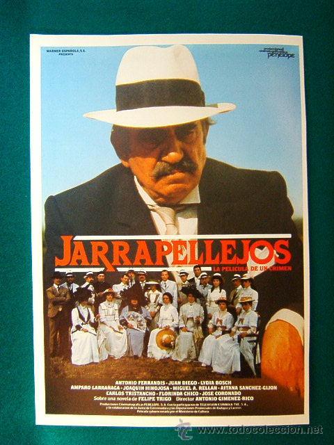 JARRAPELLEJOS - ANTONIO GIMENEZ RICO - ANTONIO FERRANDIS - JUAN DIEGO - LYDIA BOSCH - GUIA ... (Cine - Reproducciones de carteles, folletos...)
