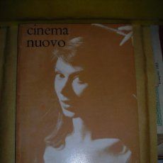 Cine: REVISTA DE CINE - CINEMA NUOVO Nº156,DIR.GUIDO ARISTARCO ,ANNO XI 1962- 80 PAG.24X17,5 CM . Lote 38230855