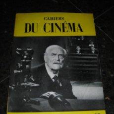 Cinéma: REVISTA DE CINE CAHIERS DU CINEMA Nº 95 MAI 1959 -64 PAG. 26X18,5 CM. . Lote 38236374