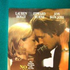 Cinema: NO MIRES ATRAS - NO LOOKING BACK - EDWARD BURNS - LAUREN HOLLY - JON BON JOVI - GUIA .... Lote 38280516