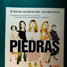 Cinema: PIEDRAS - RAMON SALAZAR - ANTONIA SAN JUAN - NAJWA NIMRI - ANGELA MOLINA - VICKY PEÑA - GUIA .... Lote 38301645