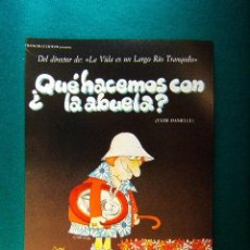 Cine: QUE HACEMOS CON LA ABUELA ? - TATIE DANIELLE - ETIENNE CHATILIEZ - TSILLA CHELTON - GUIA .... Lote 243059770