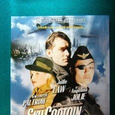 Cine: SKY CAPTAIN Y EL MUNDO DEL MAÑANA -KERRY CONRAN -GWYNETH PALTROW -JUDE LAW -ANGELICA JOLIE -GUIA .... Lote 114999683