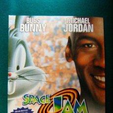 Cinema: SPACE JAM - JOE PYTKA - BUGS BUNNY - MICHEL JORDAN - WAYNE KNIGHT - THERESA RANDLE - GUIA ... . Lote 38329673