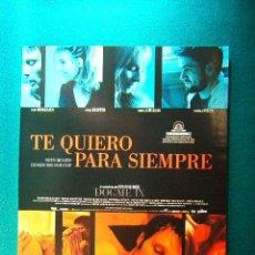 Cinema: TE QUIERO PARA SIEMPRE - SUSANNE BIER - MADS MIKKELSEN - SONJA RICHTER - PAPRIKA STEEN - GUIA .... Lote 38344285
