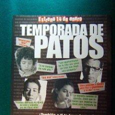 Cinema: TEMPORADA DE PATOS - FERNANDO EIMBCKE - ENRIQUE ARREOLA - DIEGO CATAÑO - GUIA .... Lote 38344353