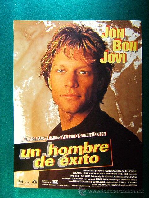 UN HOMBRE DE EXITO - THE LEADING MAN - JOHN DUIGAN - JON BON JOVI - ANNA GALIENA - GUIA ... (Cine - Reproducciones de carteles, folletos...)