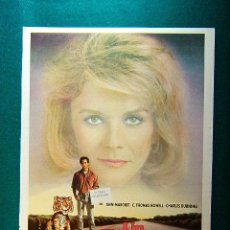 Cine: UN TIGRE EN LA ALMOHADA - PETER DOUGLAS - ANN MARGRET - C. THOMAS HOWELL - CHARLES DURNING - GUIA.... Lote 209651675