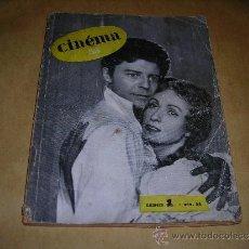 Cine: (M) REVISTA CINEMA 55- Nº1 NOV.1954,DIRECTEUR MARC LELARGE ,PARIS 96 PAG. 18,5X14 CM. . Lote 38359466