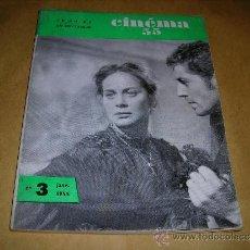 Cine: (M) REVISTA CINEMA 55- Nº3 JANVIER.1955,DIRECTEUR MARC LELARGE ,PARIS 96 PAG. 18,5X14 CM. . Lote 38359563