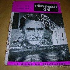 Cine: (M) REVISTA CINEMA 55- Nº8 DECEMBRE1955 JANVIER 1956 ,DIRECTEUR MARC LELARGE ,PARIS 96 PAG.18,5X14. Lote 38359701