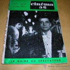 Cine: (M) REVISTA CINEMA 56- Nº9 FEVRIER 1956 ,DIRECTEUR MARC LELARGE ,PARIS 96 PAG. 18,5X14 CM. . Lote 38359745