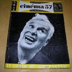 Cine: (M) REVISTA CINEMA 57- Nº 22 NOV.1957 ,DIRECTEUR MARC LELARGE ,PARIS 130 PAG. 18,5X14 CM. . Lote 38359861