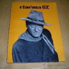Cine: (M) REVISTA CINEMA 62-Nº 70 NOVEMBRE 1962,DIRCT. JEAN BILLEN PARIS 160 PAG. - 18,5X14 CM. . Lote 38360354
