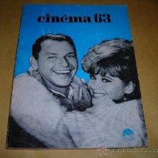 Cine: (M) REVISTA CINEMA 63 - Nº 81 DECEMBRE 1963 - DIRCT. JEAN BILLEN PARIS 160 PAG. - 18,5X14 CM. . Lote 38360447