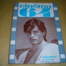 Cine: (M) REVISTA CINEMA 64 Nº 84 MARS 1964 DIRECT. JEAN BILLEN ,PARIS -136 PAG. - 18X14 CM. . Lote 38367252