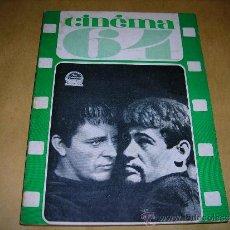 Cine: (M) REVISTA CINEMA 64 Nº 86 MAI 1964 DIRECT. JEAN BILLEN ,PARIS -138 PAG. - 18X14 CM. . Lote 38367276