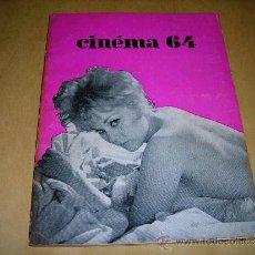 Cine: (M) REVISTA CINEMA 64 Nº 82 JANVIER 1964 DIRECT. JEAN BILLEN ,PARIS -136 PAG. - 18X14 CM. . Lote 38367338