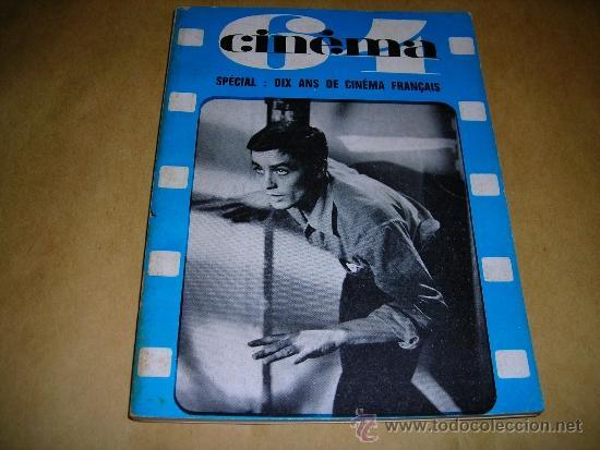 (M) REVISTA CINEMA 64 Nº 88 JUILLET-AOUT 1964 DIRECT. JEAN BILLEN ,PARIS -136 PAG. - 18X14 CM. (Cine - Revistas - Cinema)