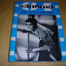 Cine: (M) REVISTA CINEMA 64 Nº 88 JUILLET-AOUT 1964 DIRECT. JEAN BILLEN ,PARIS -136 PAG. - 18X14 CM. . Lote 38367401