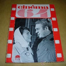 Cine: (M) REVISTA CINEMA 64 Nº 89 SEPTEMBRE-OCTOBRE 1964 DIRECT. JEAN BILLEN ,PARIS 136 PAG. - 18X14 CM. . Lote 38367437