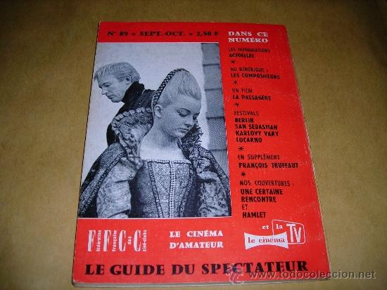 Cine: (M) REVISTA CINEMA 64 Nº 89 SEPTEMBRE-OCTOBRE 1964 DIRECT. JEAN BILLEN ,PARIS 136 PAG. - 18X14 CM. - Foto 2 - 38367437