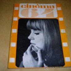 Cine: (M) REVISTA CINEMA 64 Nº 87 JUIN 1964 DIRECT. JEAN BILLEN ,PARIS 136 PAG. - 18X14 CM. . Lote 38367472