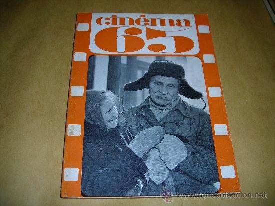 (M) REVISTA CINEMA 65 Nº 97 JUIN 1965 DIRECT. JEAN BILLEN ,PARIS 136 PAG. - 18X14 CM. (Cine - Revistas - Cinema)