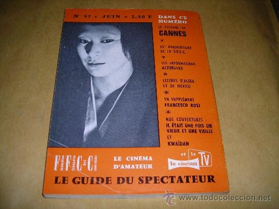 Cine: (M) REVISTA CINEMA 65 Nº 97 JUIN 1965 DIRECT. JEAN BILLEN ,PARIS 136 PAG. - 18X14 CM. - Foto 2 - 38367712