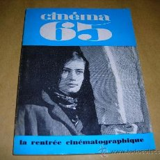 Cine: (M) REVISTA CINEMA 65 Nº 99 SEPT. - OCTOBRE 1965 DIRECT. JEAN BILLEN ,PARIS 136 PAG. - 18X14 CM. . Lote 38367777