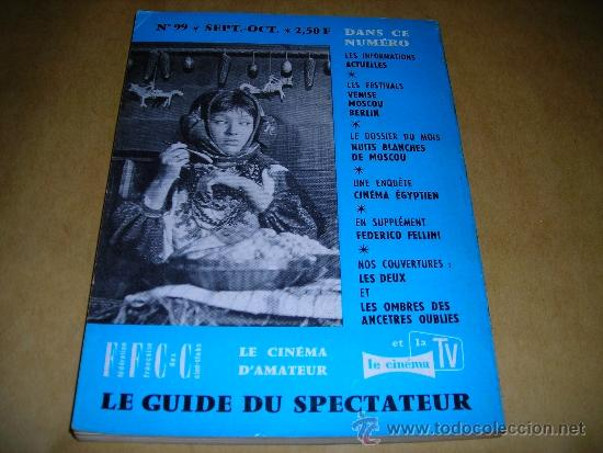 Cine: (M) REVISTA CINEMA 65 Nº 99 SEPT. - OCTOBRE 1965 DIRECT. JEAN BILLEN ,PARIS 136 PAG. - 18X14 CM. - Foto 2 - 38367777