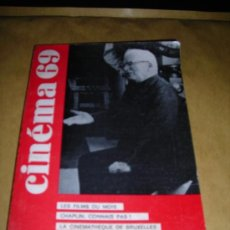 Cine: (M) REVISTA CINEMA 69 Nº 136 MAI 1969 - PARIS - MARCEL MARTIN - 144 PAG.18X14 CM. . Lote 38371712