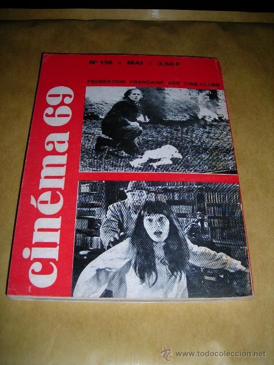 Cine: (M) REVISTA CINEMA 69 Nº 136 MAI 1969 - PARIS - MARCEL MARTIN - 144 PAG.18X14 CM. - Foto 2 - 38371712