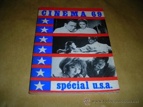 (M) REVISTA CINEMA 69 - Nº 132 JANVIER 1969 SPECIAL U.S.A. ,DIRCT. JEAN BILLEN PARIS 18,5X14 CM. (Cine - Revistas - Cinema)