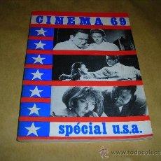 Cine: (M) REVISTA CINEMA 69 - Nº 132 JANVIER 1969 SPECIAL U.S.A. ,DIRCT. JEAN BILLEN PARIS 18,5X14 CM. . Lote 38372011