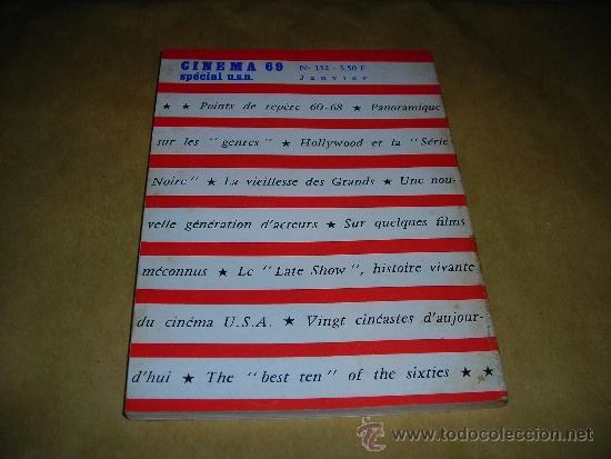 Cine: (M) REVISTA CINEMA 69 - Nº 132 JANVIER 1969 SPECIAL U.S.A. ,DIRCT. JEAN BILLEN PARIS 18,5X14 CM. - Foto 2 - 38372011