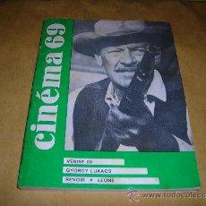 Cine: (M) REVISTA CINEMA 69 -Nº 140 NOVEMBRE 1969 ,DIRCT. JEAN BILLEN PARIS 144 PAG 18,5X14 CM. . Lote 38372152